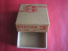 EUROPA SCATOLA PORTA SVEGLIETTA SVEGLIA DA VIAGGIO - VINTAGE BOX CUSTODIA