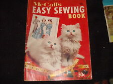 McCall's Easy Sewing Book 1958 Vintage Clothing Construction