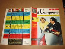 RIVISTA SPORTIVA IL CAMPIONE ANNO 1956 ANNO II° N°25 MILANI TORINO BACIGALUPO