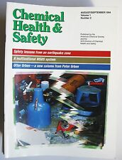 CHEMICAL HEALTH & SAFETY LOT 44 MAGAZINES 1994 - 2002 American Chemical Society