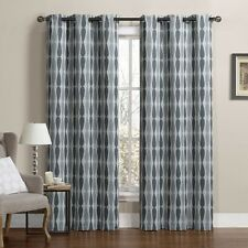"Mansoon Woven Jacquard Insulated Blackout Curtain 76 x 84"" (Pair)"