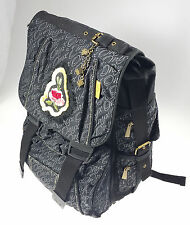 School Backpack ONYX GLAMOUR Black Extensible by CARTORAMA OFFER DISCOUNT 60%
