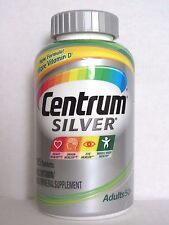 Centrum SILVER for ADULTS 50+, 285 Tablets ** Multivitamin & Multimineral **