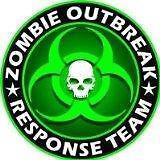 "2"" Zombie Outbreak Response Team Green Skull Vinyl Decal Sticker …"