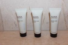 AHAVA MINERAL HAND CREAM (3) .85 fl oz.  tubes NEW  free US SHIPPING!