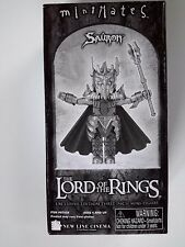 Lord Of The Rings LOTR Minimates SAURON Action FIGURE Tower Records Exclusive