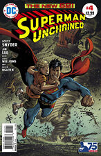 SUPERMAN UNCHAINED #4 GARCIA LOPEZ 1:50 VARIANT COVER! DC COMICS! VF/NM