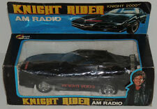 1984 KNIGHT RIDER KITT Trans Am AM RADIO Car Figure Vintage David Hasselhoff