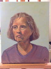 Original oil painting-Portrait--Direct from the artist--NEW release-16x20-signed