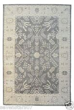Restoration Hardware Nava Persian Hand Knotted Gray Rug 9x12 Wool $5795 MSRP