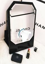 CHANEL VIP GIFT LARGE HEXAGONAL MAKE UP VANITY MIRROR/TISSUE HOLDER VIP GIFT NEW