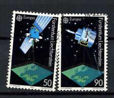 Liechtenstein 1991 SG#1006-7 Europa Europe In Space Used Set #A3278