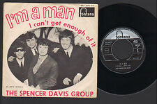 "7""  SPENCER DAVIS GROUP I'M A MAN / I CAN'T GET ENOUGH OF IT ITALY 1967 FONTANA"