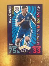 Match Attax Season 16/17 Chelsea #60 Gary Cahill