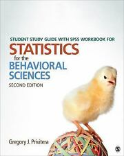 Student Study Guide With SPSS Workbook for Statistics for the Behavioral Science