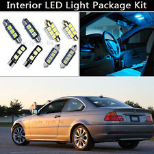 16PCS Canbus LED Interior Lights Package kit Fit 1998-2004 BMW 3 Series E46 J1