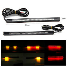 FEU ARRIERE BANDE 48 LED STOP CLIGNOTANT signal strip light rear moto phare bike