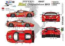 "[FFSMC Productions] Decals 1/32 Ferrari F-458GT ""Risi"" 12 Hours of Sebring 2013"