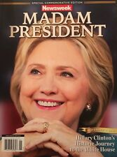 "Hillary Clinton Madam President Phantom Newsweek 2""x3"" Flexible Fridge Magnet"