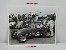 1963 Langhorne Speedway Sprints Photo 8x10 BW Lot #02