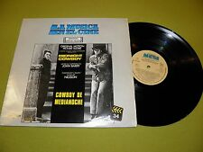 Cowboy De Medianoche (Midnight Cowboy) Soundtrack RARE Spain Made LP John Barry