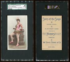 1891 N130 Stars of the Stage (2nd Series) Unknown Sub. SGC 80 EX/NM #8132126-018