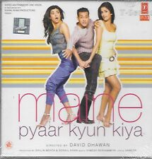 MAINE PYAAR KYUN KIYA - NEW BOLLYWOOD SOUNDTRACK CD - FREE UK POST