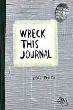 Wreck This Journal Keri Smith Duct Tape Expanded Edition Diary Literature Read