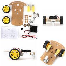 Robot intelligent voiture Car Encoder Châssis Kit Batteries Box Pour Arduino UK