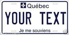 Quebec 1986 License Plate Personalized Custom Auto Car Bike Moped Motorcycle Tag