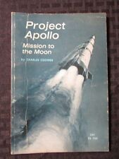 1965 PROJECT APOLLO Mission To The Moon by Charles Coombs SC 1st Ed. Scholastic