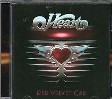 Heart - Red Velvet Car (2010 CD) European Version - 2 Bonus Tracks (New)