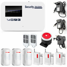 Wireless Wired GSM Alarm Home Autodial Security System IOS Android APP Controll