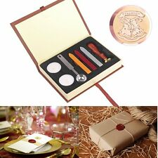 Classic Letter Harry Potter Hogwarts School Badge Wax Seal Stamp w/Wax Set New