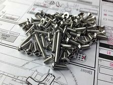 ZZRACING Stainless steel screws Set For AE RC8B3e