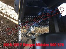 2015--2017 POLARIS RANGER MIDSIZE 570 500 BACK DIAMOND PLATE FLOOR BOARDS