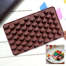 Mini Coffee Bean Shape Silicone Mould Cake Chocolate Candy Ice Baking Mold