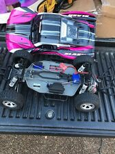 Traxxas Slash 1/10 Scale 2wd Short Course Racing Truck FOR PARTS/REPAIR Pink