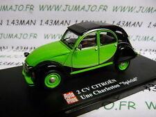voiture 1/43 ELIGOR Autoplus CITROËN 2CV n°29 : charleston spécial