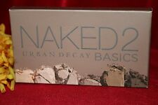 URBAN DECAY NAKED 2 BASICS EYESHADOW EYE SHADOW PALETTE NEW IN BOX AUTHENTIC
