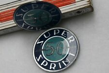 VESPA TOOLBOX embleme badge SS 50 SS50 S.SPRINT frame Super Sprint Logo