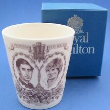 1981 Royal Doulton Princess Diana Wedding Beaker in Original Box