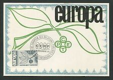 FRANCE MK 1965 EUROPA CEPT STRASBURG CENTRE MAXIMUMKARTE MAXIMUM CARD MC d5303