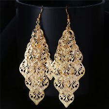 Fashion 18k Gold plated earring dangle/drop women Jewelry gift HY187 Y188