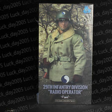 "DID WWII US 29th Infantry Division Radio Operator ""Paul"" 1/6 Figure"
