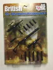 Barrack Sergeant Realistic 1/6th Scale British 70-80s Infantry Weapons Set #3
