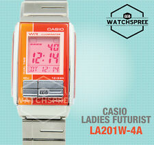 Casio Futurist Digital Ladies Watch LA201W-4A