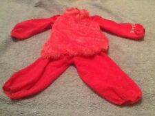 Boobah Jingbah Little Girls Pink Dress Up Halloween Costume 1-2 Years Old Rare