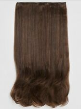Warm Brunette 2/30 Straight 24in Clip In Synthetic Hair Extension BNWT RRP £15