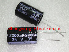 50PCS 2200UF 35V Electrolytic Capacitor 35V 2200UF 16x25mm